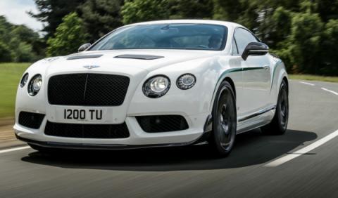 Bentley Continental GT3-R frontal específico