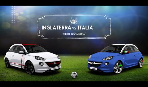 El Opel Adam se viste para el Mundial