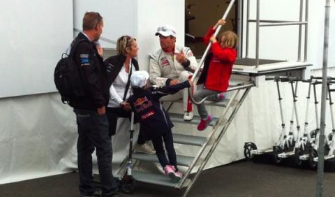 Loeb familia WTCC 2014 Spa