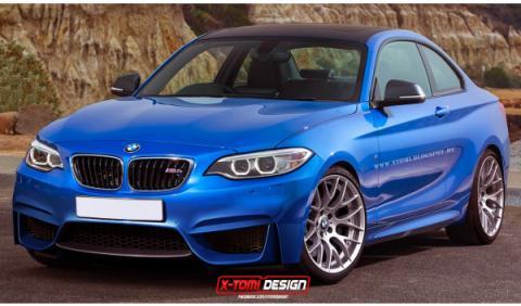 Así podría ser el nuevo BMW M2