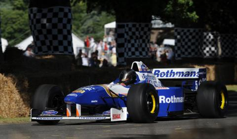 Williams FW18 goodwood