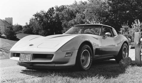 Corvette robado