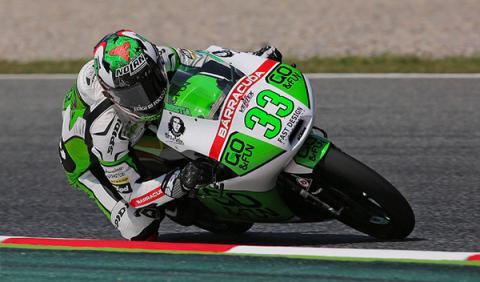 Bastianini, sorpresa en los libres Moto3 GP Holanda 2014