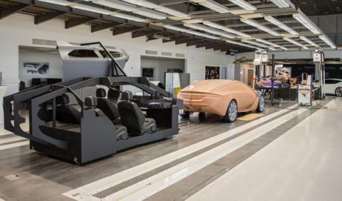 Centro de Diseño de Opel en Rüsselsheim