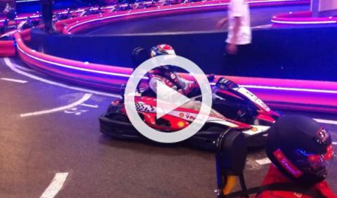 Celebramos con Gené su segundo puesto en Le Mans 2014