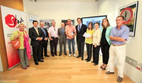 La expo 'Peatón, no atravieses tu vida' recorrerá Madrid