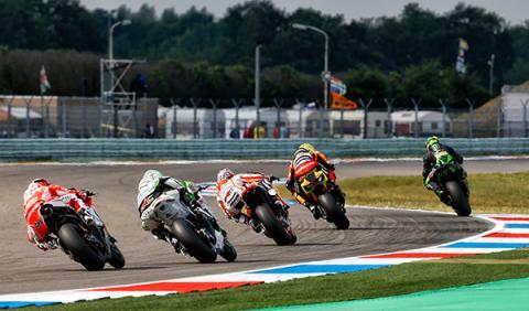 Parrilla de salida MotoGP GP Holanda 2014