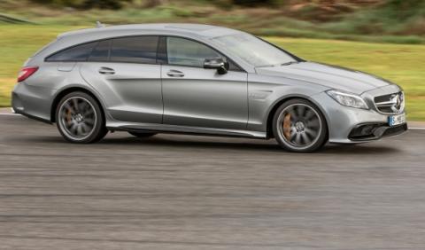El Mercedes CLS 63 AMG Shooting Brake acelera de 0 a 100 km/h en 3,6 segundos