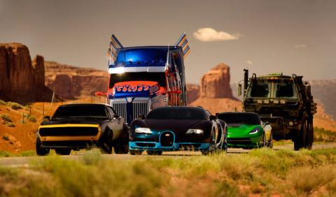 Los coches de 'Transformers 4'