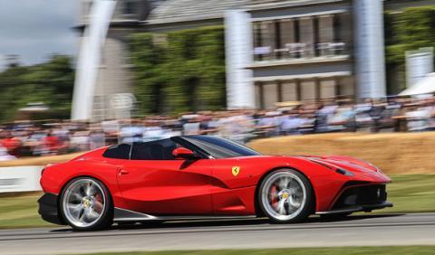 El Ferrari más caro de todos, en Goodwood