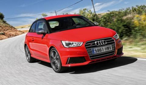 Audi S1 frontal