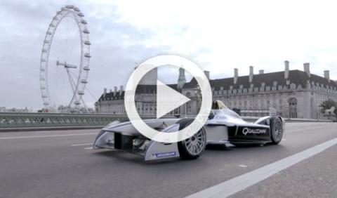 La Fórmula E eléctrica ya rueda por las calles de Londres