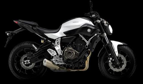 Yamaha MT07 matriculaciones