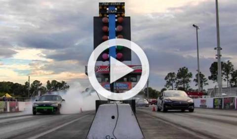 Un Miata eléctrico contra un Tesla Model S: ¿quién ganará?