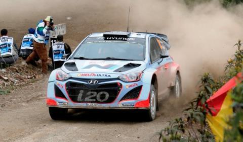 Dani Sordo Rally de Alemania 2014