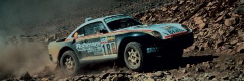 Porsche 959 rally Dakar