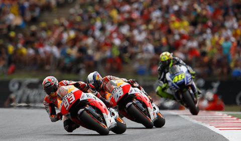 Moto GP Alemania Reyes de Sachsenring