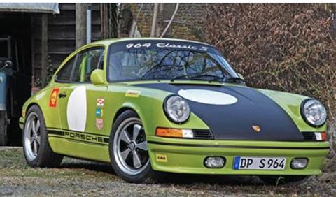 Un Porsche 911 retro preparado por DP Motortsport