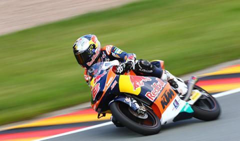 carrera Moto3 GP Alemania 2014