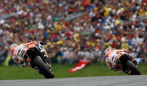 Pedrosa carrera MotoGP GP Alemania 2014