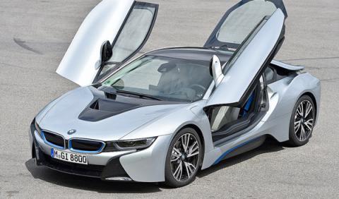 BMW I8 puertas