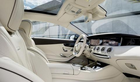 Mercedes S 65 AMG Coupé habitáculo