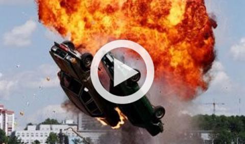 Las mejores escenas de efectos especiales con coches