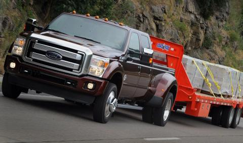Ford Super Duty 2015 delantera