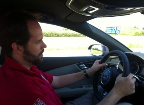Audi A7 Sportback Competition al volante