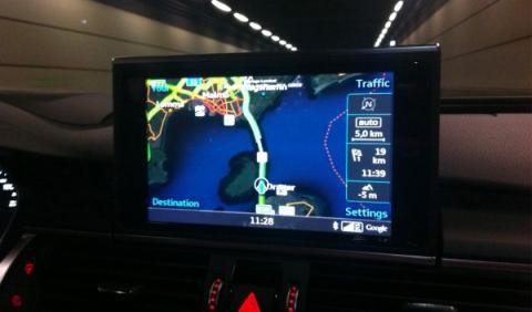 Audi A7 Sportback Competition Dinamarca Suecia