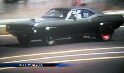 Hallan un Plymouth Barracuda 13 años después de ser robado