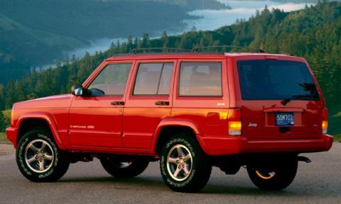 jeep cherokee trasera