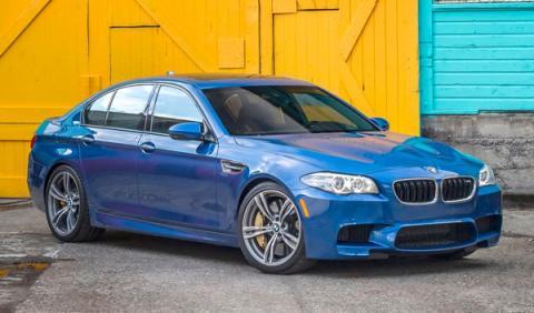 BMW M5 sufre un espectacular accidente en Hungría