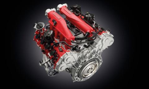 Ferrari planea lanzar un motor con turbocompresor eléctrico
