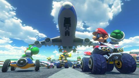 Juegos de karts: Mario Kart 8