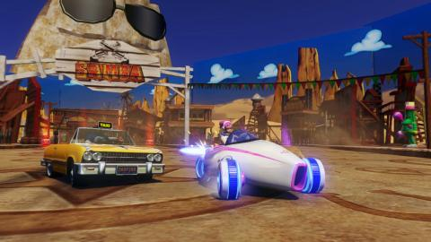 Juegos de karts: Sonic & All-Stars Racing Transformed
