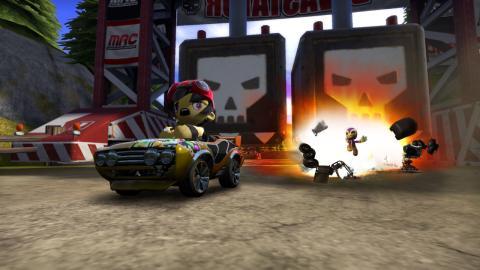 Juegos de karts: ModNation Racer