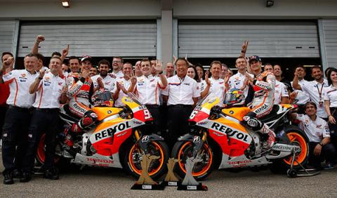 equipo HRC Repsol