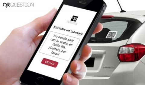Crean un código QR asociado a Whatsapp que evita multas