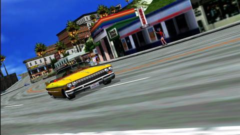 Recreativas de carreras: Crazy Taxi