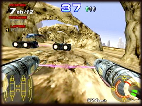 Recreativas de carreras: Star Wars Arcade Racer