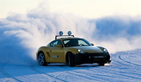 Laponia Ice Driving, a 200 km/h en Silverstone