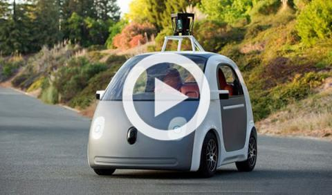 Coche de Google que conduce solo tendrá volante y pedales