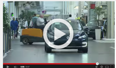 Vídeo: así se fabrica el VW e-Golf