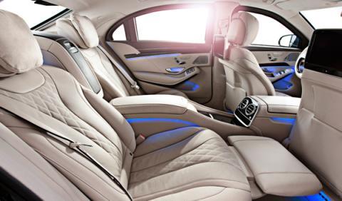 El espacio interior del Mercedes Clase S 600 Guard ofrece el máximo lujo y refinamiento, con la máxima protección