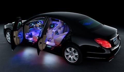 El Mercedes Clase S 600 Guard dispone de un motor V12 de 530 CV y 830 Nm de par asociado a un cambio 7G-Tronic