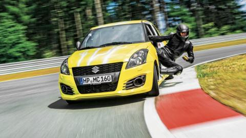 Suzuki Swift Sport Hayabusa frontal