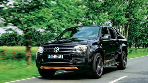 Volkswagen Amarok V8 TDI Passion frontal