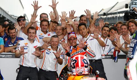 décima victoria Márquez Indianápolis