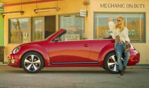 volkswagen beetle cabrio lateral